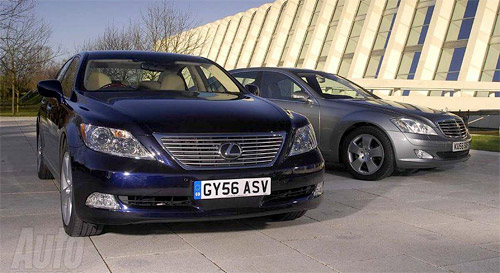 The Lexus LS 460L vs. The Mercedes S550