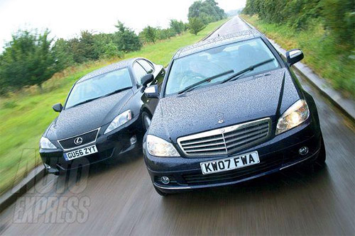 The Lexus IS 250 vs. The Mercedes C200K
