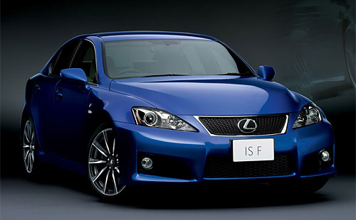The Japanese Lexus IS-F