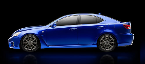 The 2008 Lexus IS-F