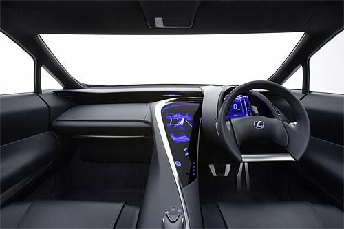 Lexus LF-Xh Interior