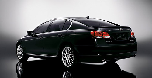 2008 Lexus GS 460 Rear