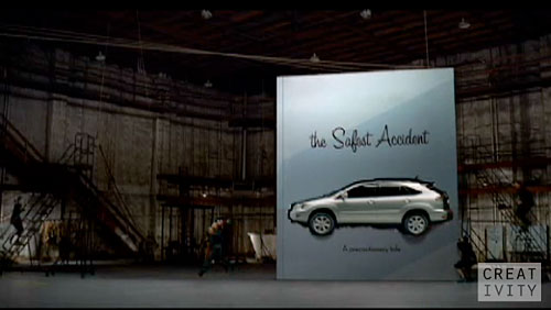 Lexus RX Commercial: Pop-Up Book