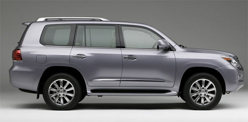 The 2008 Lexus LX 570