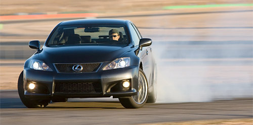 Edmunds Reviews the 2008 Lexus IS-F