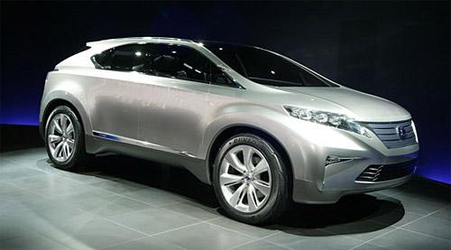 The Lexus LF-Xh Concept