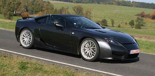 Lexus LF-A in UK