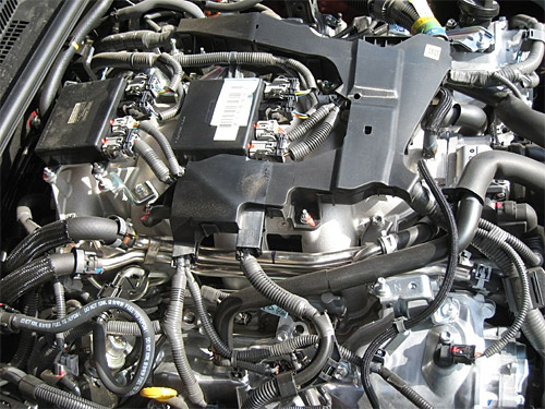 Lexus IS-F Engine Uncovered
