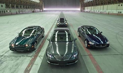 Motor Trend Lexus LS 600hL Comparison Test