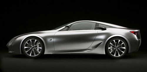 The Lexus LF-A