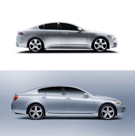 The Lexus GS vs. Jaguar XF