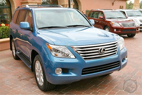2008 Lexus LX 570 in Smurf Blue