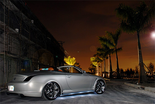 Lexus SC 430 with Sevas Wheels