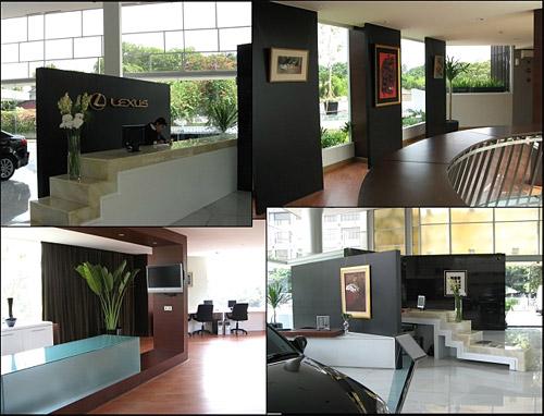 Indonesia Lexus Gallery Interior