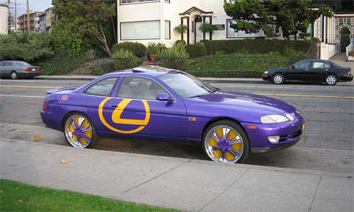 Oakland Gaudy Lexus 1