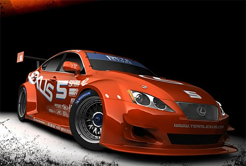 Team Lexus IS 350 GT2