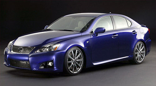 2008 Lexus IS-F Pricing
