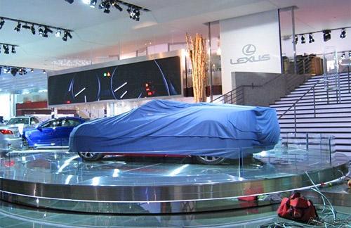 Surprise Lexus Coupe @ Detroit Auto Show