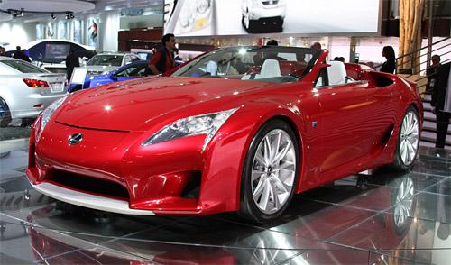 Lexus LF-A Roadster @ Detroit Auto Show