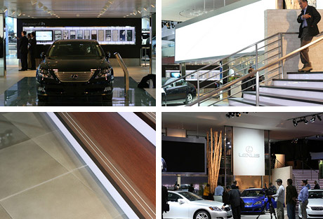 Lexus Booth @ Detroit Auto Show