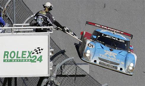Lexus Wins the Daytona 24 Race