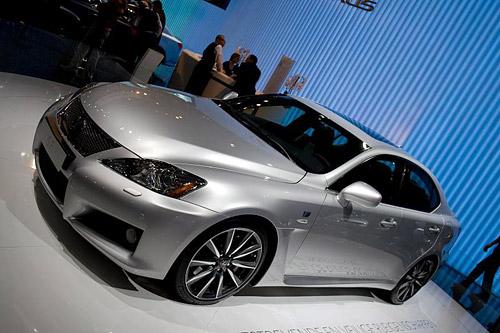 Lexus IS-F in Grey