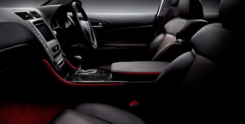 Lexus GS Passionate Black Interior