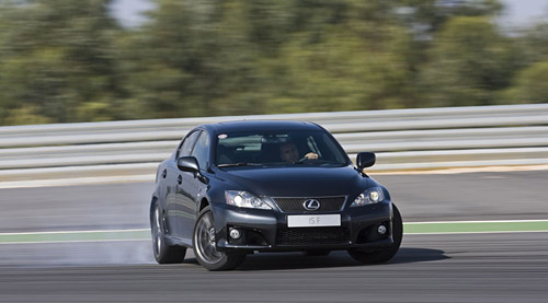 The Lexus IS-F