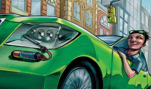 Motor Trend Editorial on the Lexus LS 600hL