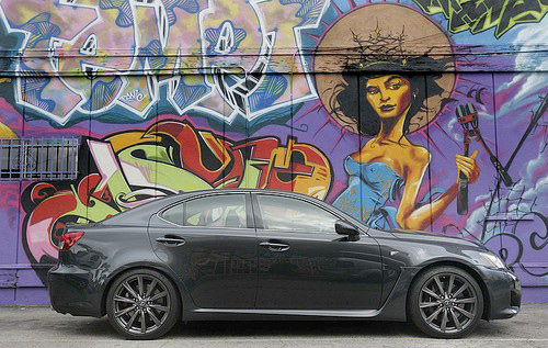 Lexus IS-F Review in the LA Times