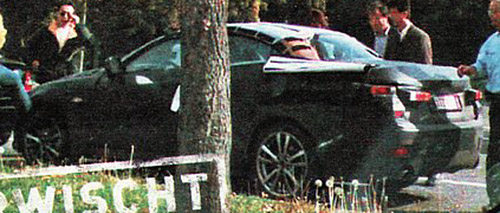 Lexus IS Convertible Coupe Spy Shot