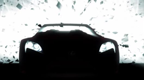Lexus LF-A Roadster Concept Video 1