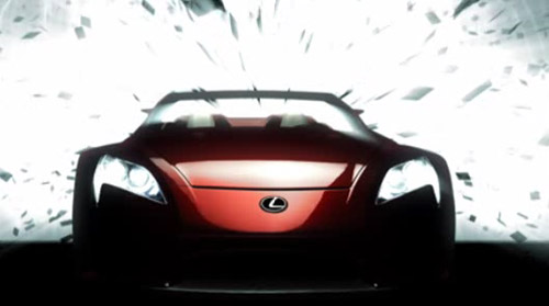 Lexus LF-A Roadster Concept Video 2