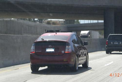 Lexus Prius Spotted