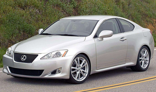 filed by Lexus in both the USA and Canada: IS 250C, IS 300C and IS 350C.