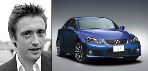 Lexus IS-F & Richard Hammond