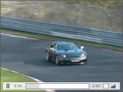 Lexus LF-A Racing Prototype Video