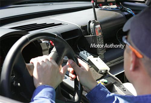 Lexus LF-A Interior Spy Shot