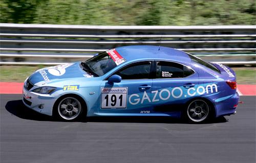 Lexus IS 250 Gazoo Race Car