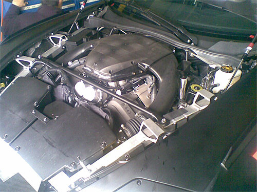 Lexus LF-A Engine Closeup