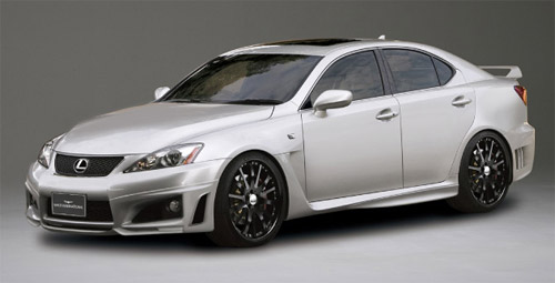 Lexus IS-F Wald Body Kit Front