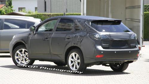 2010 Lexus RX Prototype Back