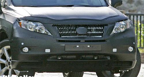 Lexus RX Prototype Front End