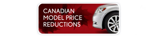 Lexus Canada Price Reductions