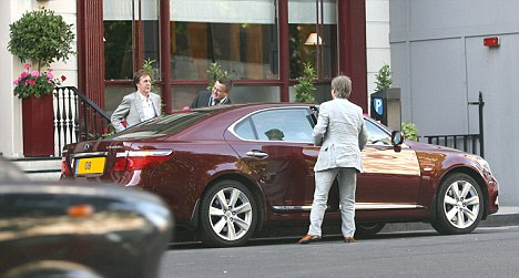 Paul McCartney's Lexus LS 600hL