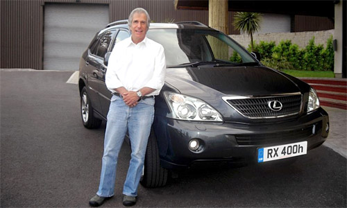 The Fonz and the Lexus Hybrid