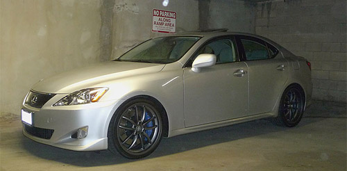 Lexus IS F-Sport Mods