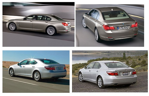 Lexus LS vs. BMW 7 Series Comparison