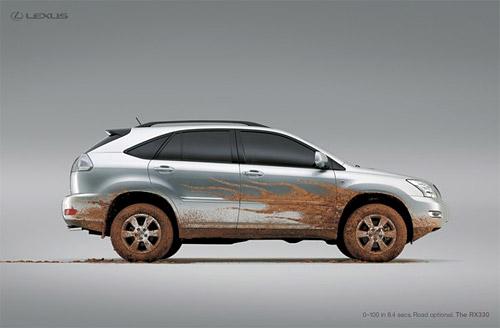 Lexus RX 330 Print Ad