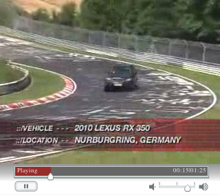 2010 Lexus RX Video
